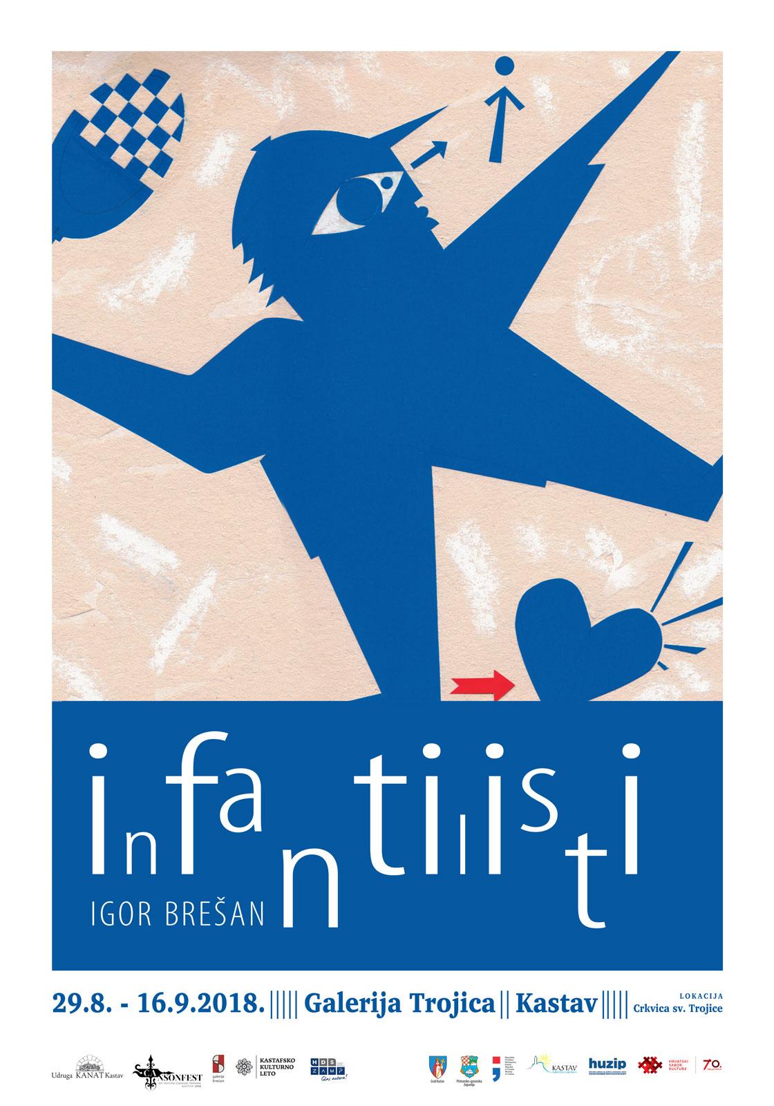 Plakat Infantilisti